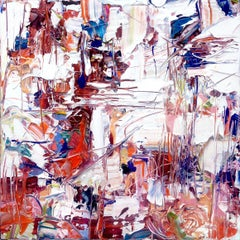 CHORDS - bold and colorful abstract painting