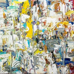 Inner Voice - bright, bold, impasto, abstract expressionist, acrylic on canvas