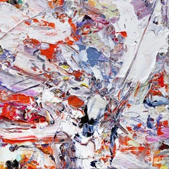 OUTBURST - bold and colorful abstract painting