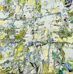Silent Spaces - bright, bold, impasto, abstract expressionist, acrylic on canvas