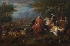 Louis XIV - the Sun King - Battle scene - Old Master
