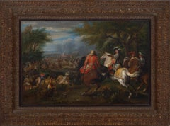 Louis XIV at the Defeat of the Comte de Marsin at the Canal of Bruges