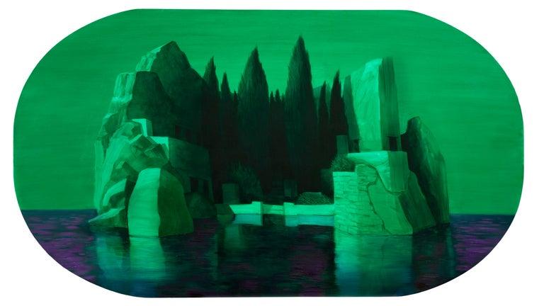 Adam Gunn Figurative Painting - Ruin value (second version)