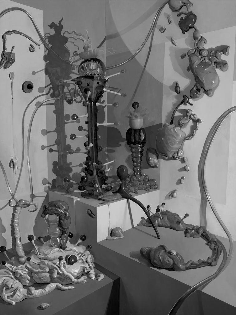 Adam Gunn Abstract Print - Unknown Unknown Unknowns