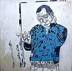 Peckham Boy, Original, Contemporary, London Inspired. Artist sells well.