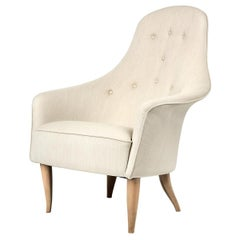 Adam Lounge Chair, Natural Oak