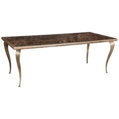 Adam Marble Top Dining Table