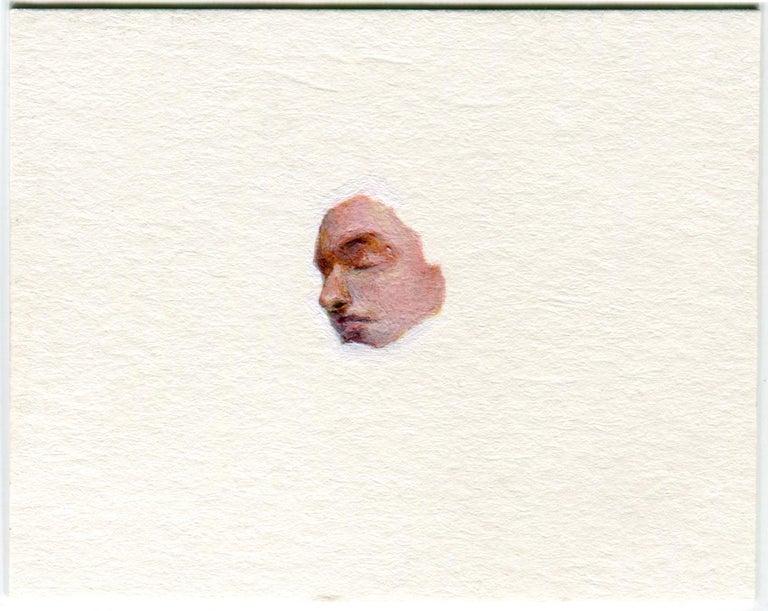 Adam Mysock Figurative Painting - OF-Head21