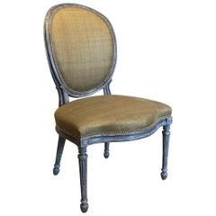 Adam Painted Side Chair Attributed to Thomas Chippendale