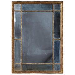 Adam Period Border Glass Mirror