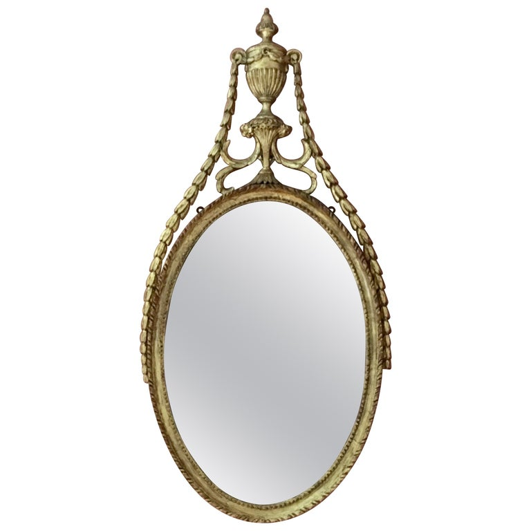 Adam Period Neoclassic Mirror, 1780, Sophia Rose Antik New York
