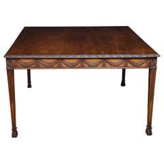 Adam Revival Mahogany Centre Table