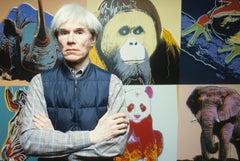 Andy Warhol Arms Crossed Fine Art Print