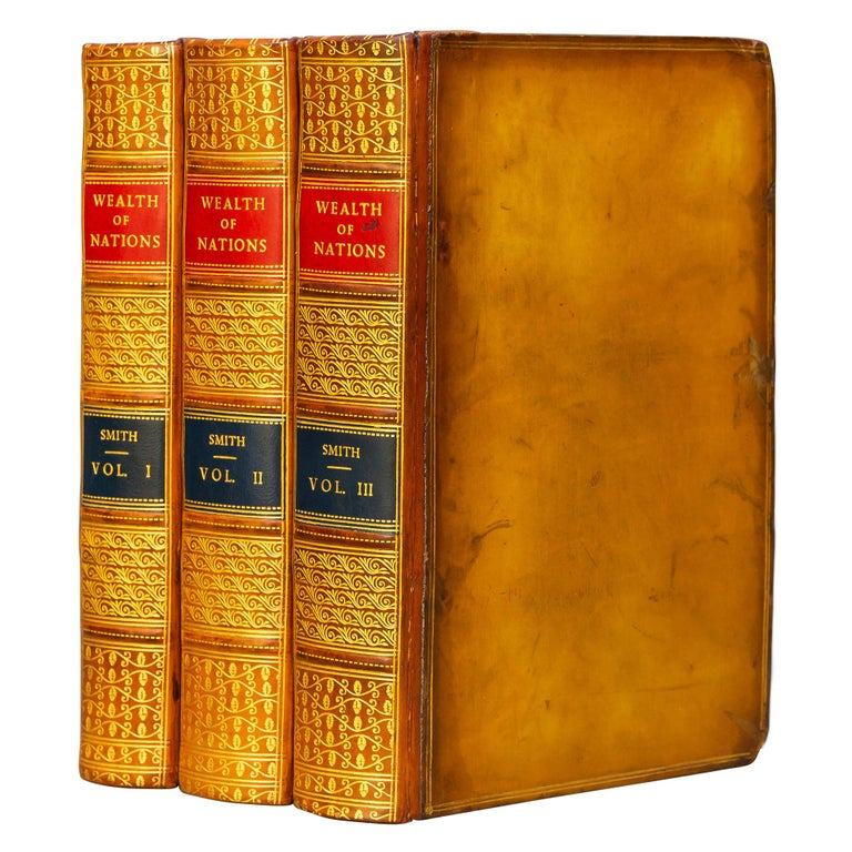 Adam Smith, Wealth of Nations In Good Condition For Sale In New York, NY