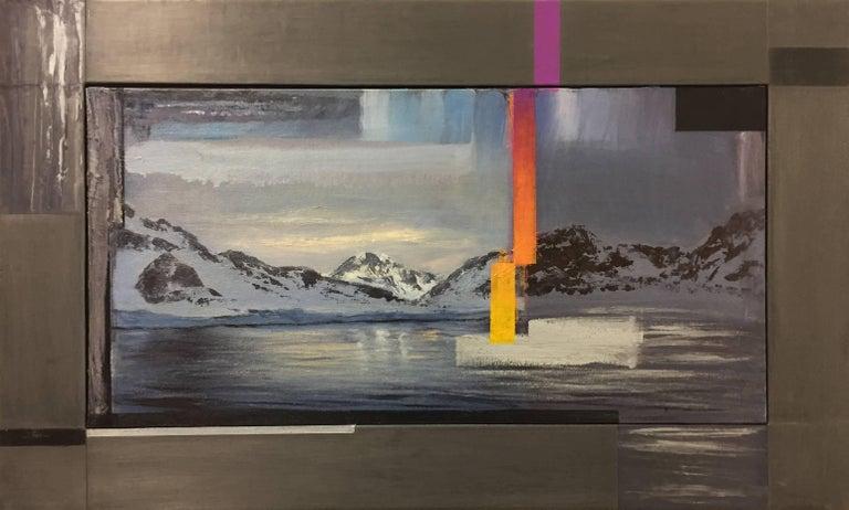 Glitch at the Edge of Antarctica  Small Version