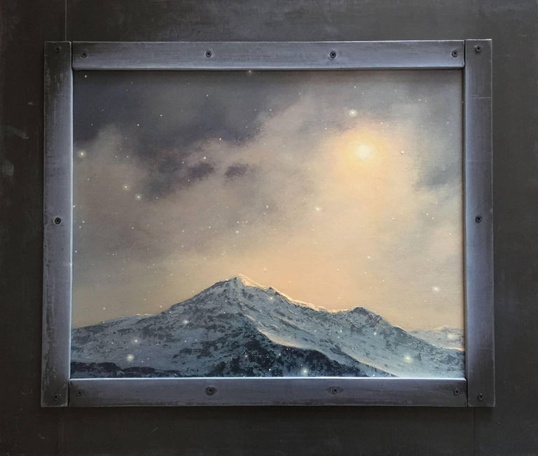 Adam Straus Landscape Painting - The Next to the Last Snowfall