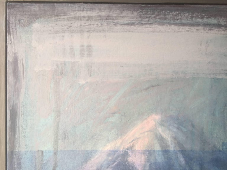 """Straus's concern for the environment carries on throughout his oeuvre. For instance, in his recent """"Glitch"""" series of paintings, Straus's commentary is obvious and well-defined. He is noticeably interested in the boundless accessibility we currently"""