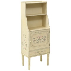 Adam Style White Painted Cabinet