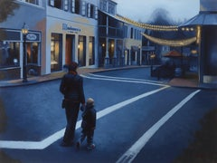 Autumn in Nevada City, Painting, Oil on MDF Panel