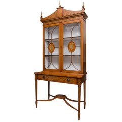 Adams Style Curio and Display Cabinet
