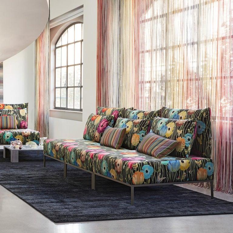 Missoni Home 3 Seat Sofa Gravita: Adar Multi-Color 3-Seat Modular Sofa By MissoniHome For