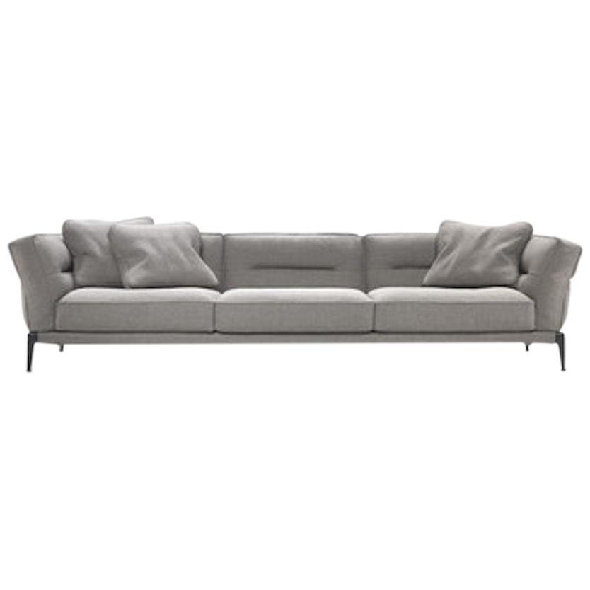 Adda Grey Fabric Sofa, by Antonio Citterio from Flexform