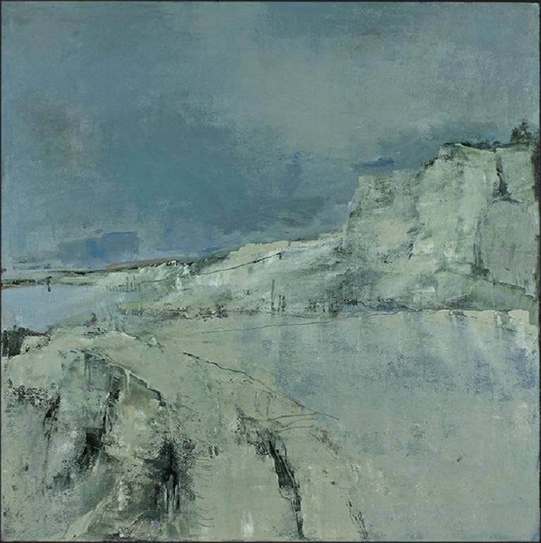 Addie Shevlin Abstract Painting - Icy