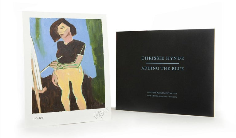 'Chrissie Hynde's paintings convey the same maverick spirit as her music.' – Christie's Magazine  In 2015, Chrissie Hynde, the singer, songwriter and leader of The Pretenders, produced an oil painting of a ceramic vase. It proved to be the starting