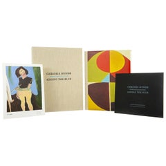 Adding the Blue by Chrissie Hynde, a Signed, Limited Edition Book and Print Set