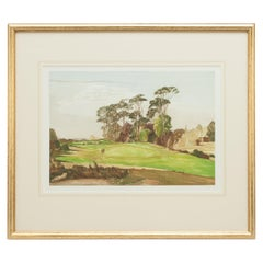 Addington Golf Club Print, Earnest Greenwood, circa 1950