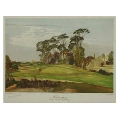 Addington Golf Club, Towards 4th Green, Ernest Greenwood