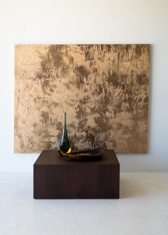 Gold Abstract Painting, Gold Painting, monocromatic painting, Abstract Painting,