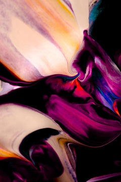 Pink Abstract Art, Abstract Art, Colorful Abstract,Abstract: MINGLE V