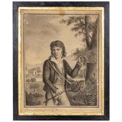 Adèle Gramagnac, Portrait of a Young Man, 1812