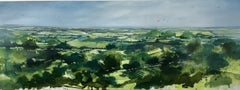 Adele Riley, Above and Beyond Cleeve Hill, Contemporary Art, Original Painting