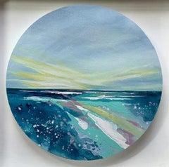 Adele Riley, Splintered Sun, Original landscape painting