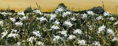 Adele Riley, Through the Cowparsley, Original floral landscape painting