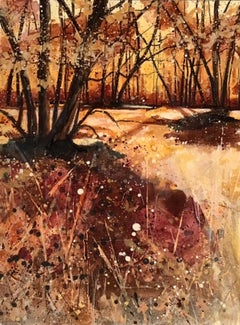Adele Riley, To Feel the Sun Again, Original Landscape Painting, Affordable Art
