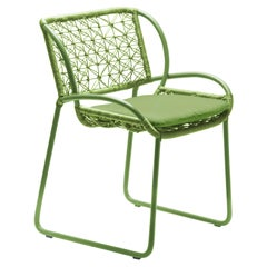 Adesso Lime Green Armchair by Kenneth Cobonpue