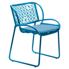 Adesso Sky Blue Armchair by Kenneth Cobonpue