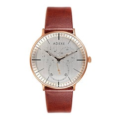 ADEXE THEY Grande Unisex Contemporary Designer Light Brown Watch