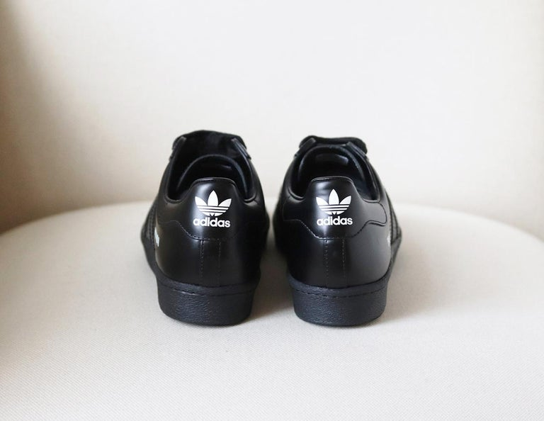 Adidas Originals + Prada Superstar Leather Sneakers In New Condition In London, GB