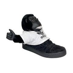 Adidas X Jeremy Scott Gorilla Sneaker Black 2012 (11 US)