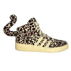 Adidas X Jeremy Scott Leopard Tail Sneaker 2012 (8.5 US)
