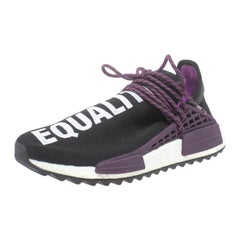 Adidas x Pharell Williams NMD Black Hu Trail Holi Low Top Sneakers Size 42.5