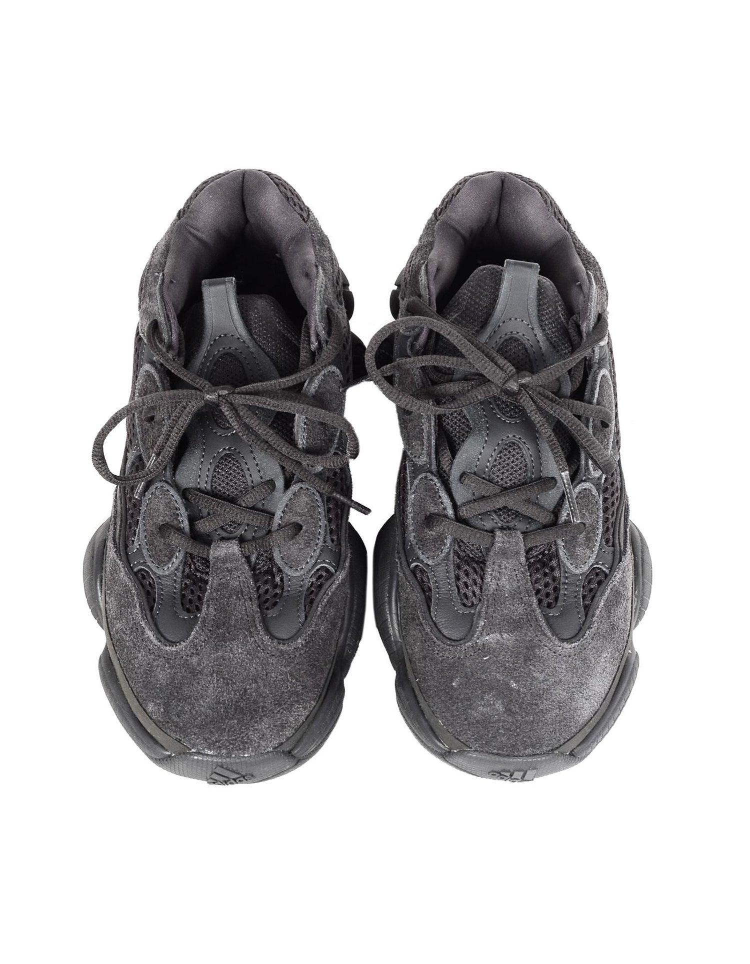 3b8432ef9 Adidas x Yeezy Unisex 2018 500 Desert Rat Utility Black Sneakers Sz ...