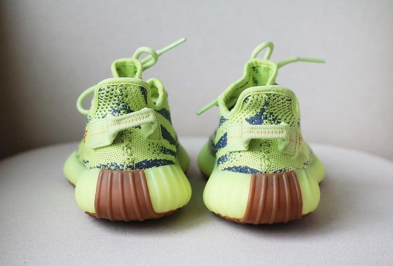 Women's or Men's Adidas Yeezy Boost 350 V2 Semi Frozen Sneakers For Sale