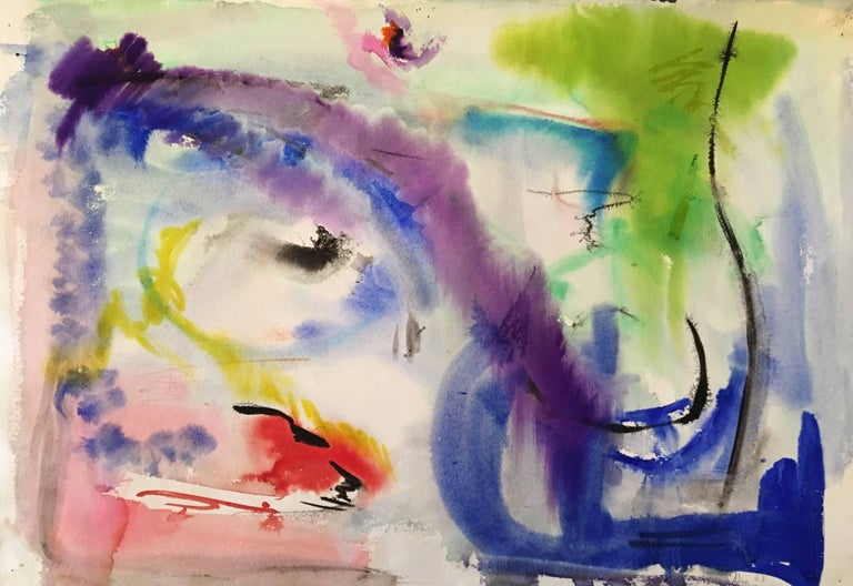 Adine Stix Abstract Painting - Untitled