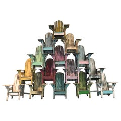 Adirondack Chair Wall Sculpture by Paul Jacobsen