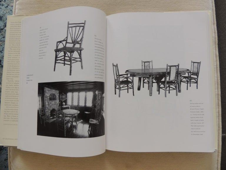 Adirondack furniture and the Rustic tradition by Craig Gilborn Shows examples of rocking chairs, tables, stools, benches, beds, clocks, trunks, mirrors, and sideboards, and discusses the history and development of Adirondack style furniture First